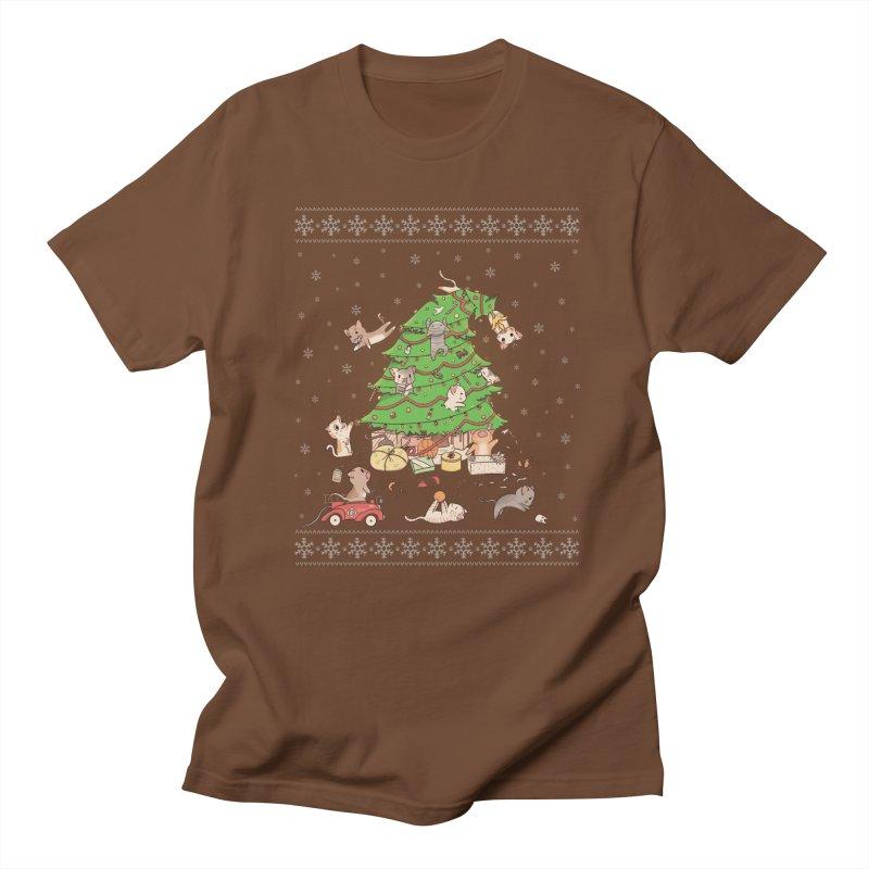 Meowi Christmas Women's Unisex T-Shirt by lirovi's Artist Shop