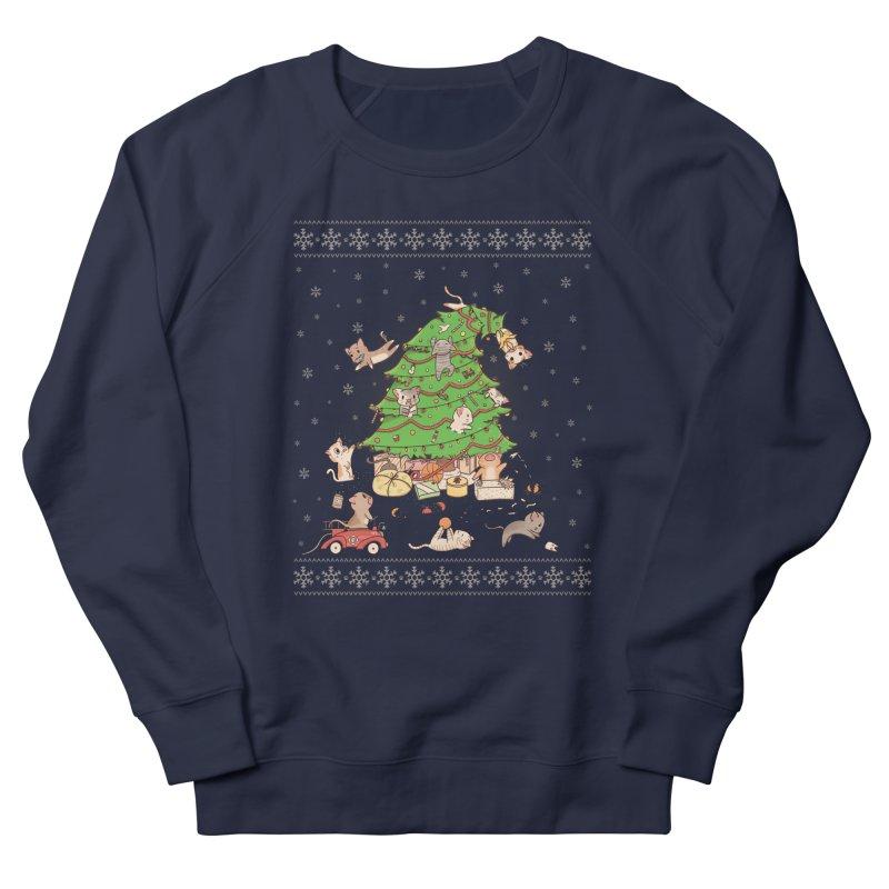 Meowi Christmas Women's Sweatshirt by lirovi's Artist Shop
