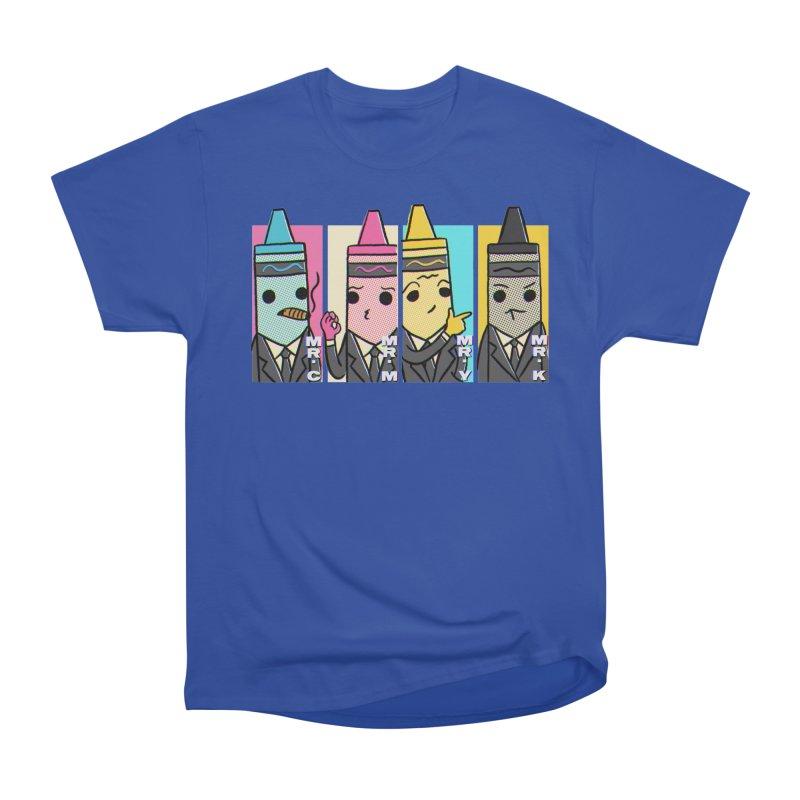 RESERVOIR CMYK Women's Heavyweight Unisex T-Shirt by lirovi's Artist Shop