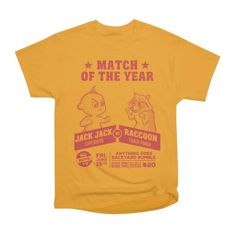 Backyard Rumble Women's Heavyweight Unisex T-Shirt by lirovi's Artist Shop
