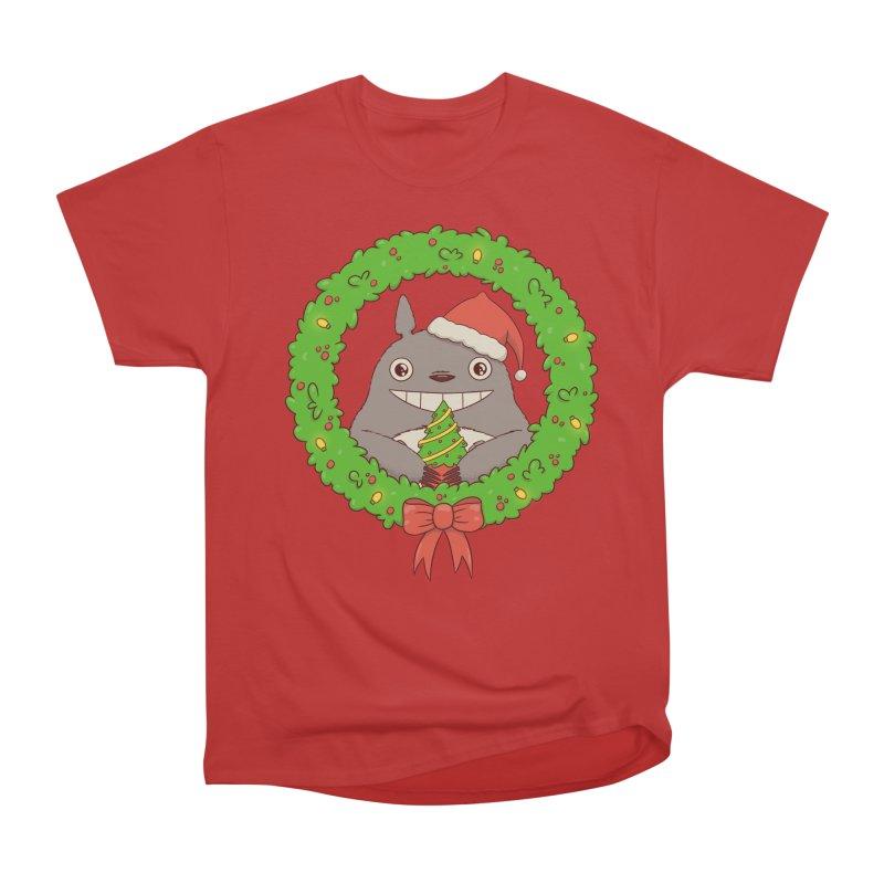 Wishing you a Merry Christmas Women's Heavyweight Unisex T-Shirt by lirovi's Artist Shop