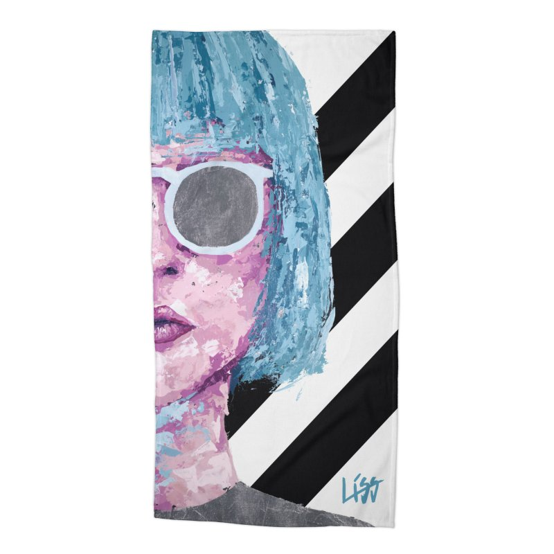 I CAN SEE YOU Accessories Beach Towel by Liss Design Shop