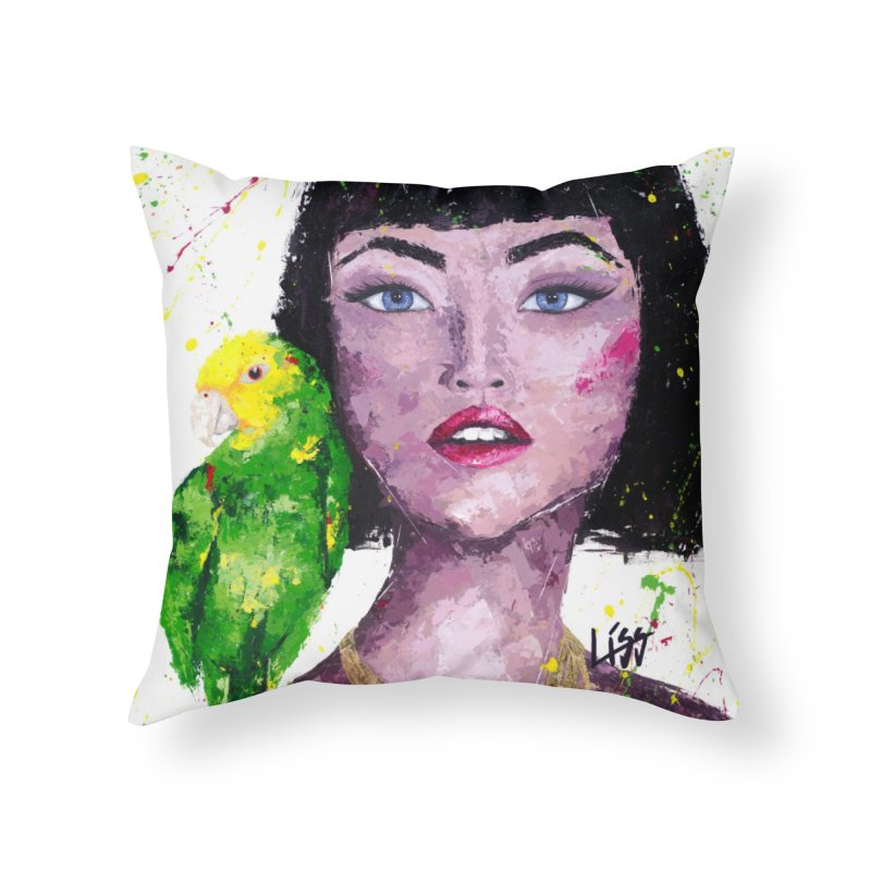 THAT'S CHICCO Home Throw Pillow by Liss Design Shop