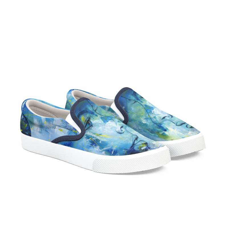 VISION IN BLUE Men's Shoes by Liss Design Shop