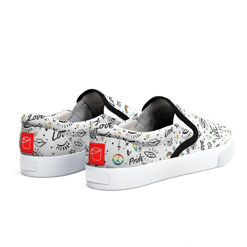 Love - The Dru Project Men's Shoes by Liss Design Shop