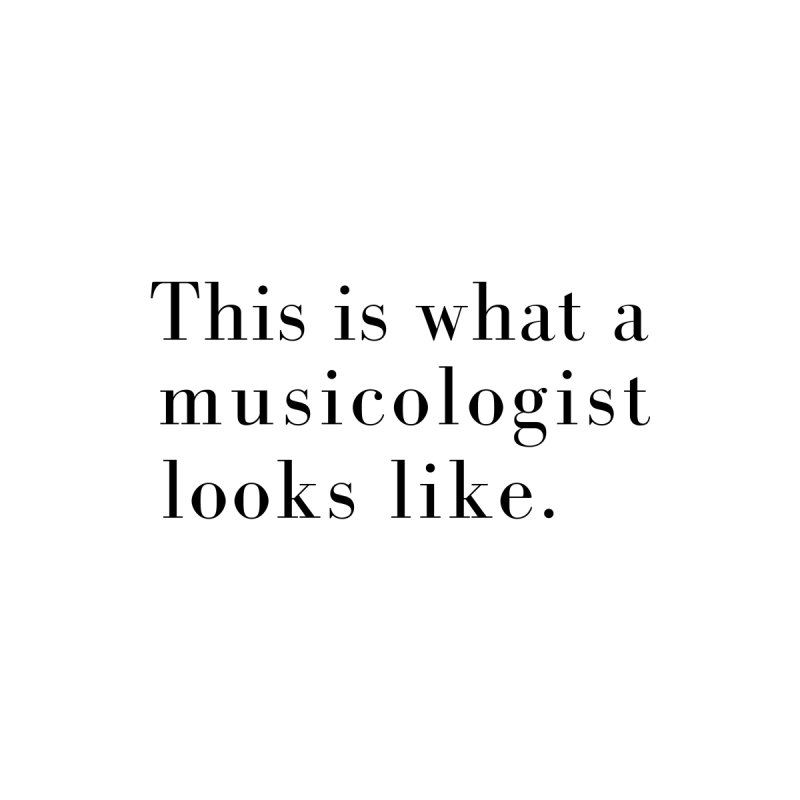 This is what a musicologist looks like. Women's V-Neck by Listening to Ladies's Artist Shop