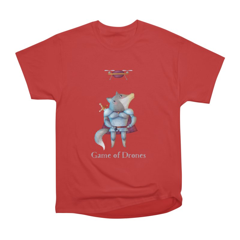 Game Of Drones Men's T-Shirt by Literary Swag