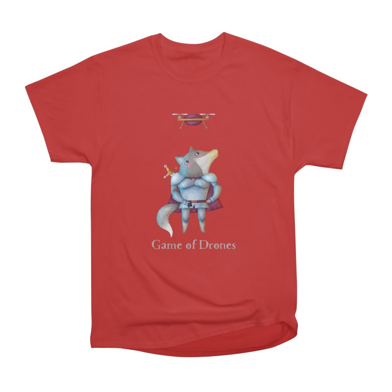 Game Of Drones Women's T-Shirt by Literary Swag
