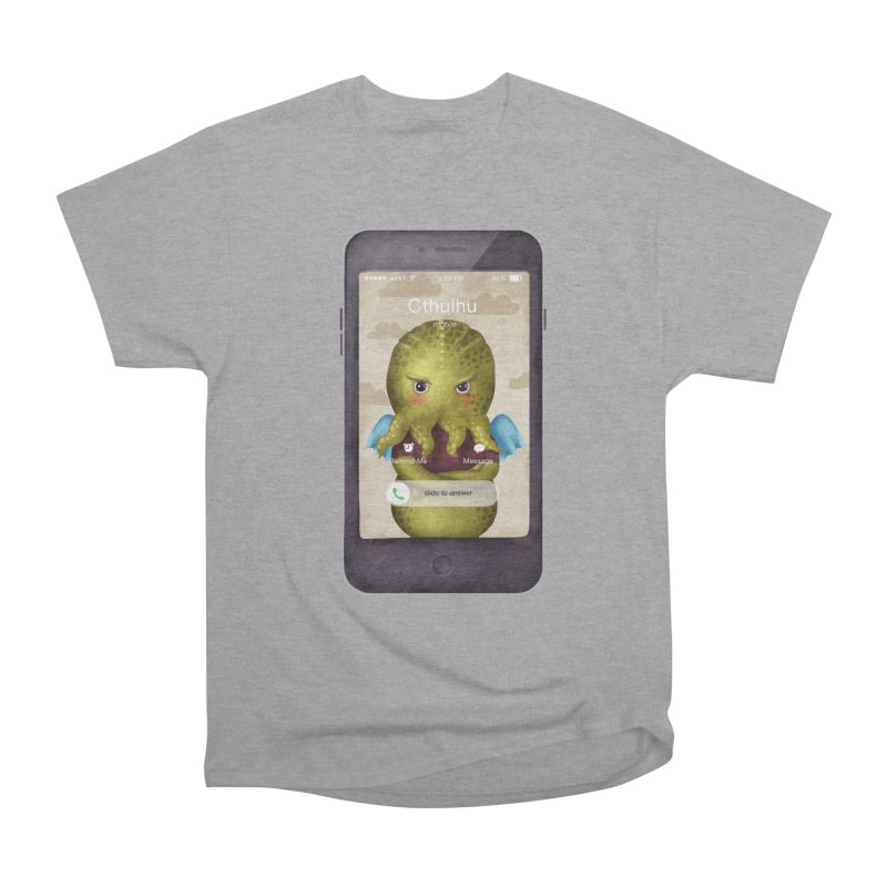 The Call Of Cthulhu Men's Heavyweight T-Shirt by Literary Swag
