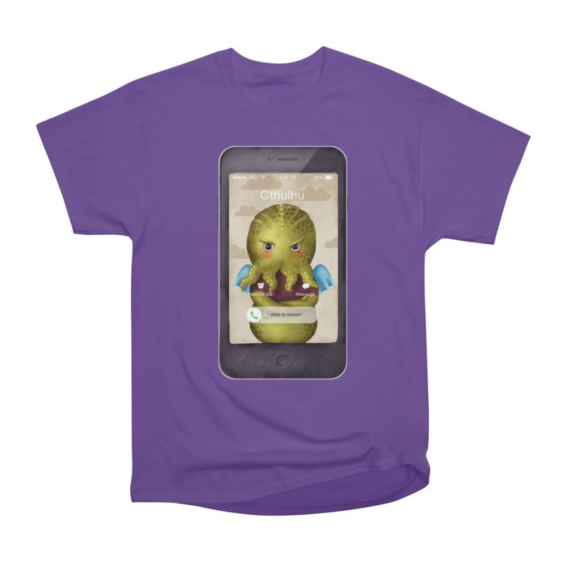 The Call Of Cthulhu Men's Classic T-Shirt by Literary Swag