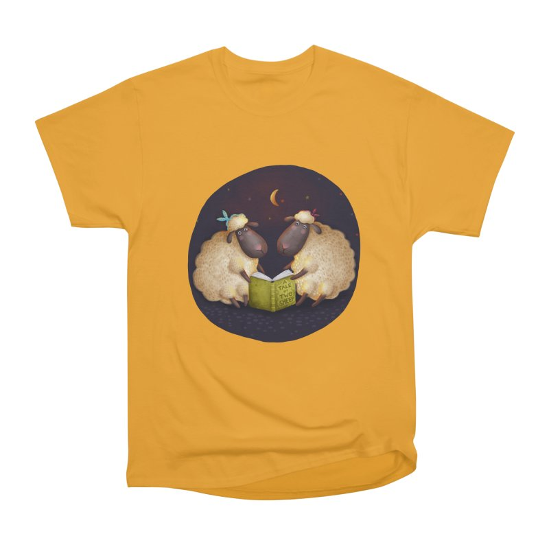 Tales Of Two Sheep Women's Heavyweight Unisex T-Shirt by Literary Swag