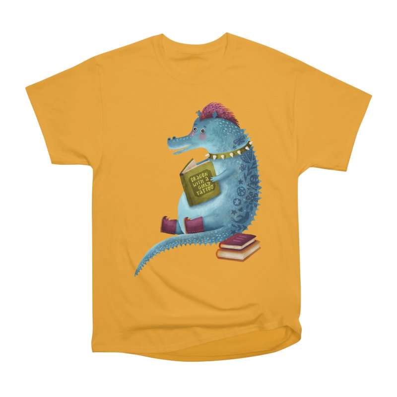 Dragon With The Girly Tattoo Women's T-Shirt by Literary Swag