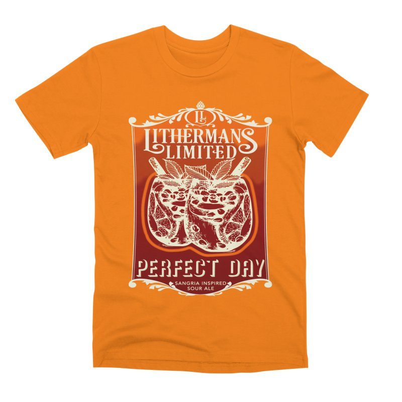 Perfect Day Men's T-Shirt by Lithermans Limited Print Shop