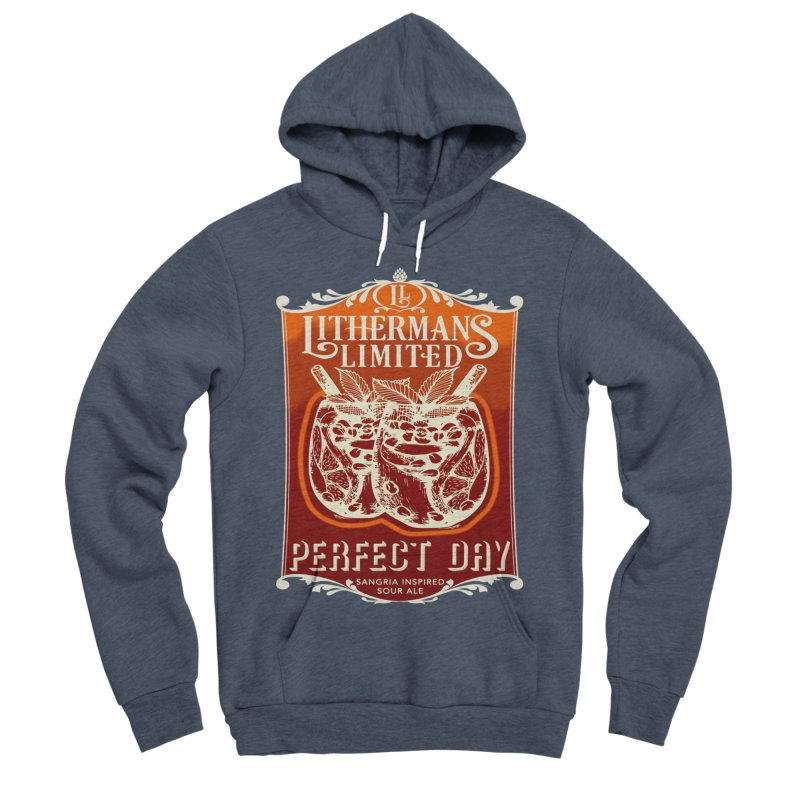 Perfect Day Women's Sponge Fleece Pullover Hoody by Lithermans Limited Print Shop