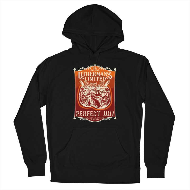 Perfect Day Women's French Terry Pullover Hoody by Lithermans Limited Print Shop