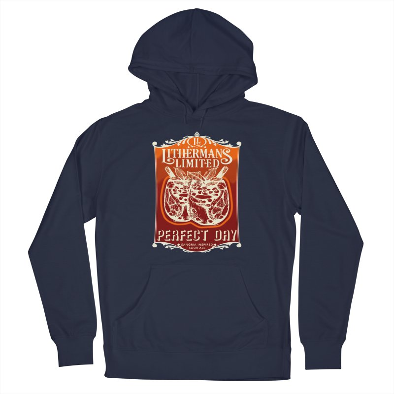 Perfect Day Men's Pullover Hoody by Lithermans Limited Print Shop