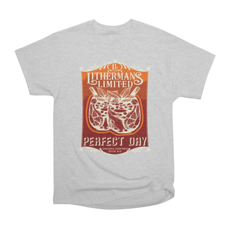 Perfect Day Women's Heavyweight Unisex T-Shirt by Lithermans Limited Print Shop