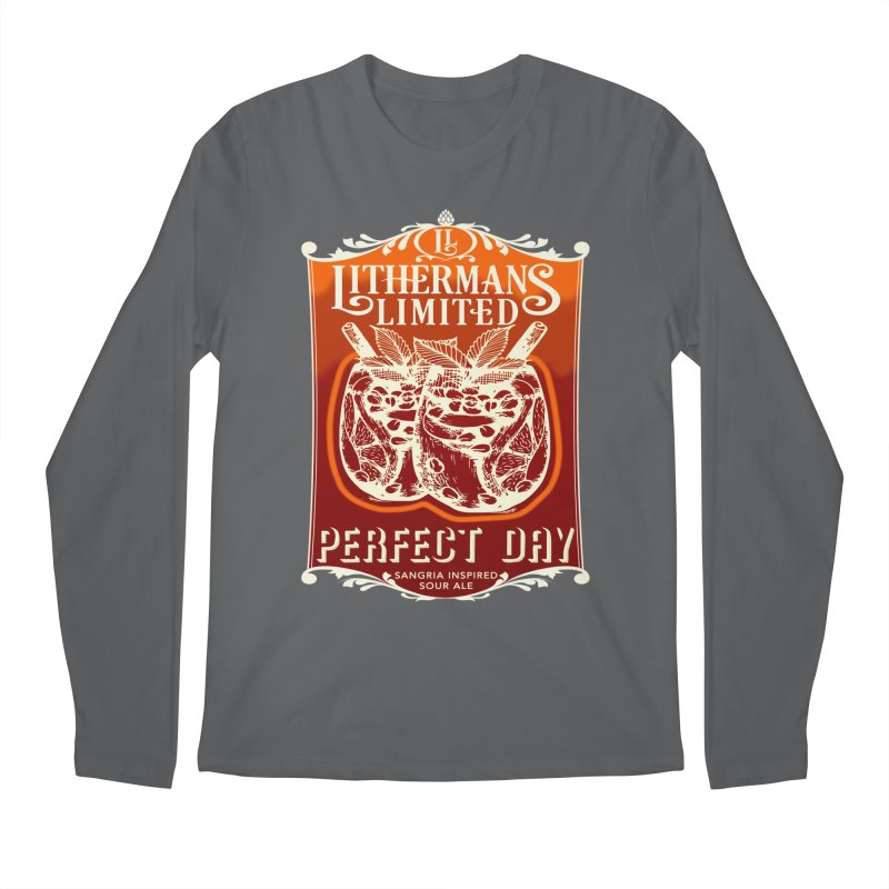Perfect Day Men's Longsleeve T-Shirt by Lithermans Limited Print Shop