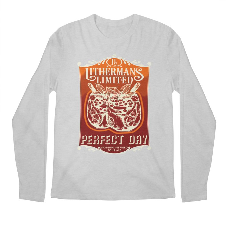 Perfect Day Men's Regular Longsleeve T-Shirt by Lithermans Limited Print Shop