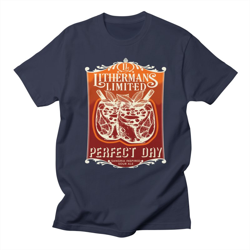 Perfect Day Men's Regular T-Shirt by Lithermans Limited Print Shop