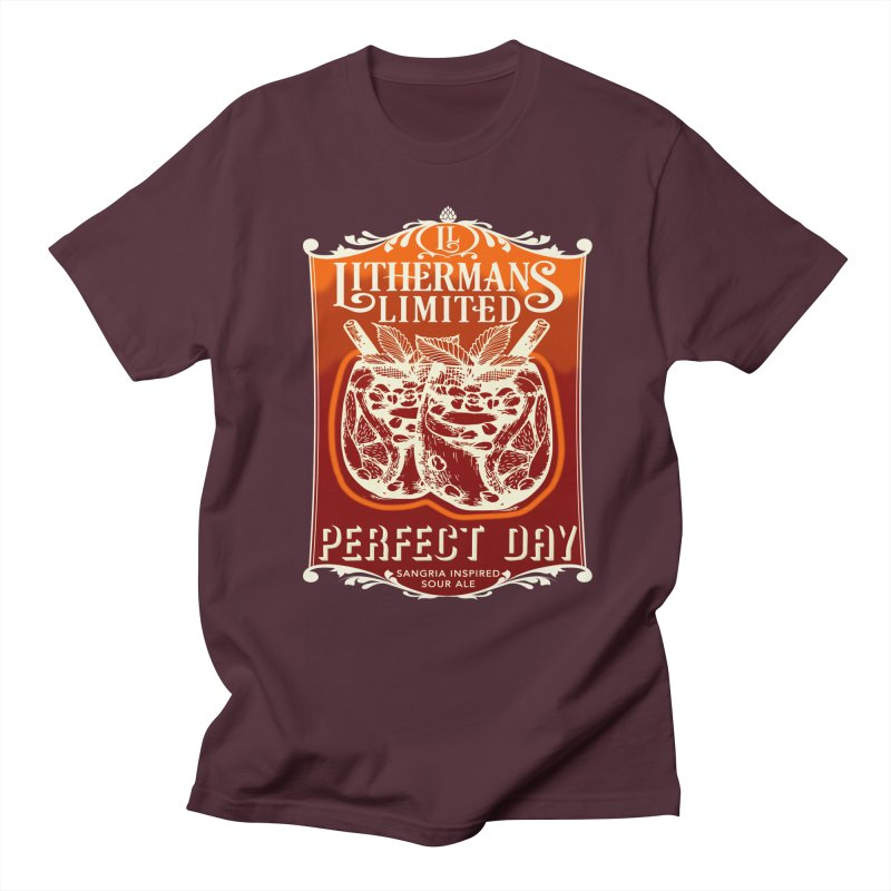 Perfect Day Women's Regular Unisex T-Shirt by Lithermans Limited Print Shop