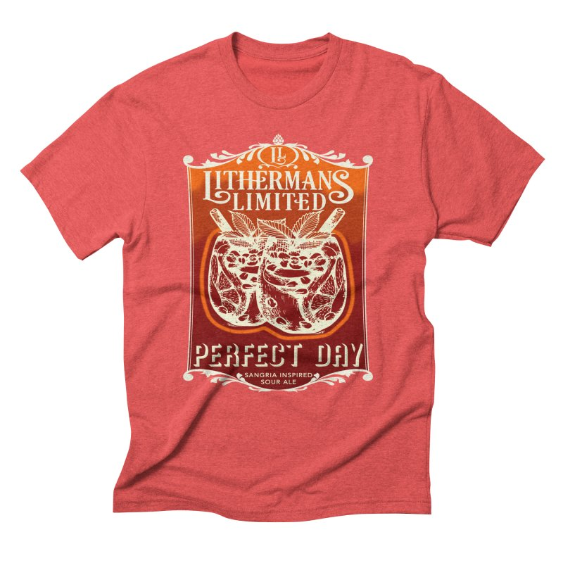 Perfect Day Men's Triblend T-Shirt by Lithermans Limited Print Shop