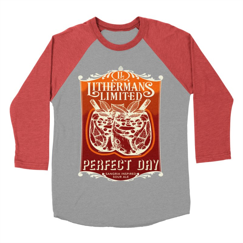 Perfect Day Women's Baseball Triblend Longsleeve T-Shirt by Lithermans Limited Print Shop