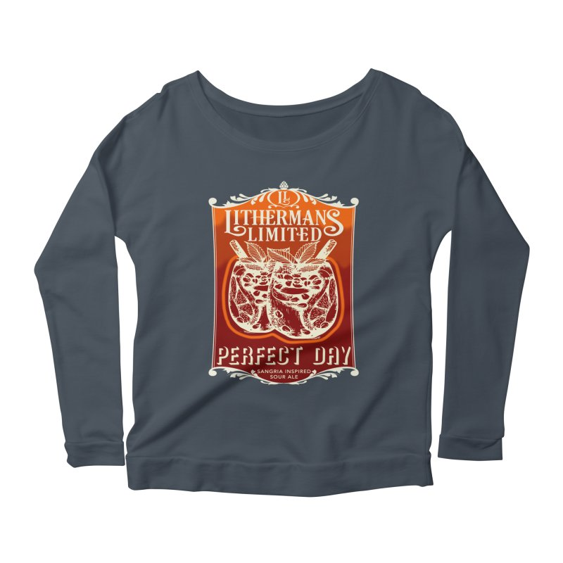 Perfect Day Women's Scoop Neck Longsleeve T-Shirt by Lithermans Limited Print Shop