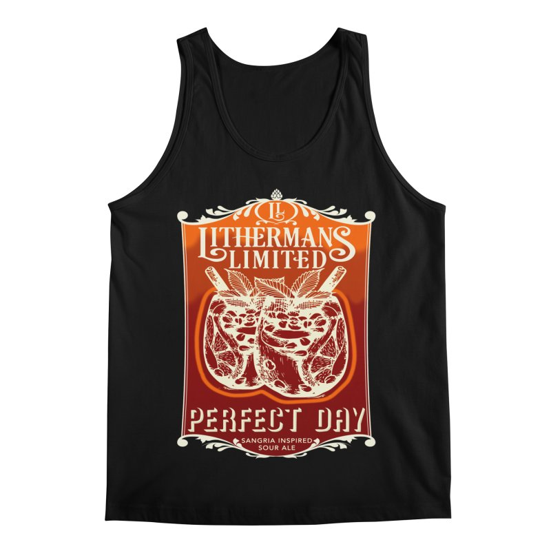 Perfect Day Men's Regular Tank by Lithermans Limited Print Shop