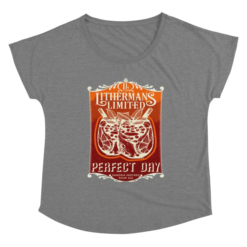 Perfect Day Women's Scoop Neck by Lithermans Limited Print Shop