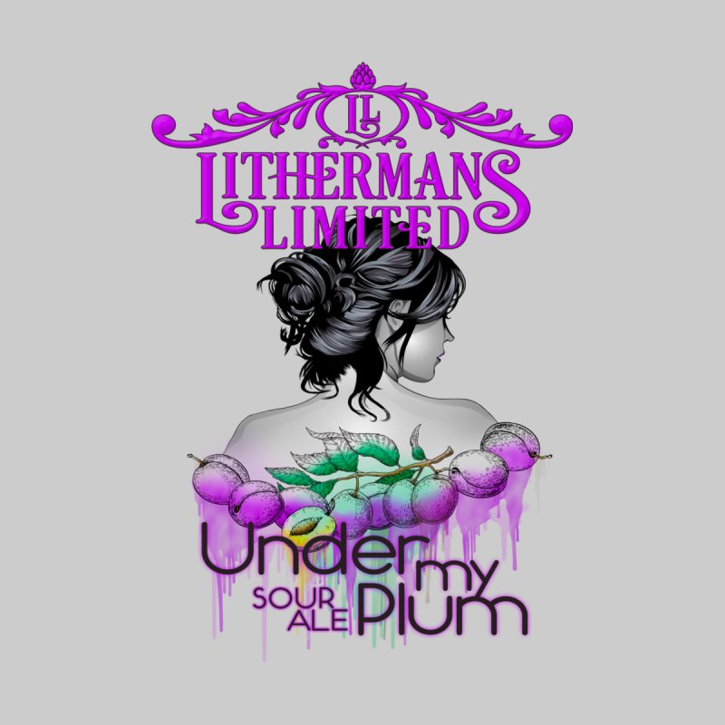 Under My Plum by Lithermans Limited Print Shop