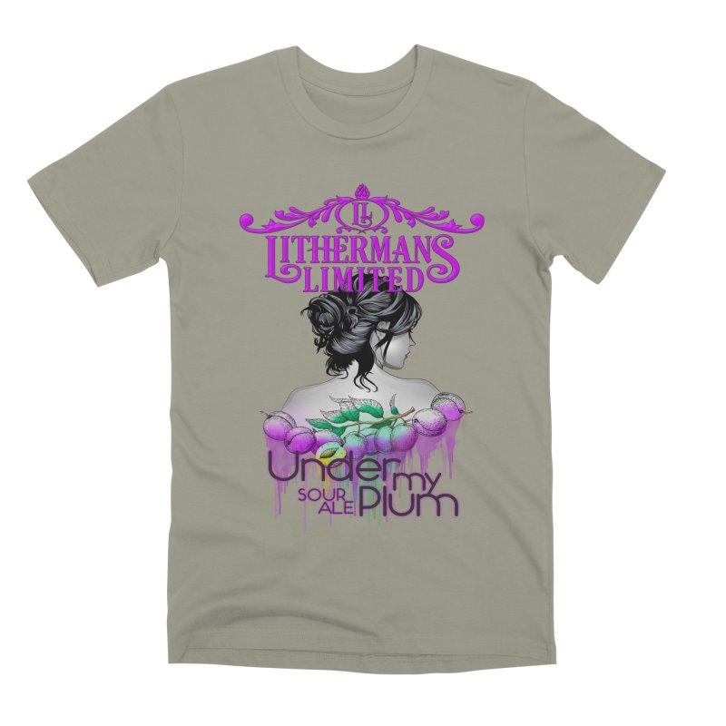 Under My Plum Men's Premium T-Shirt by Lithermans Limited Print Shop