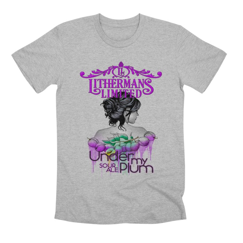 Under My Plum Men's Premium T-Shirt by Lithermans Limited Print Shop