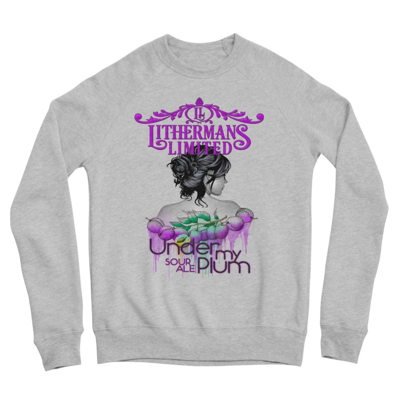 Under My Plum Men's Sponge Fleece Sweatshirt by Lithermans Limited Print Shop