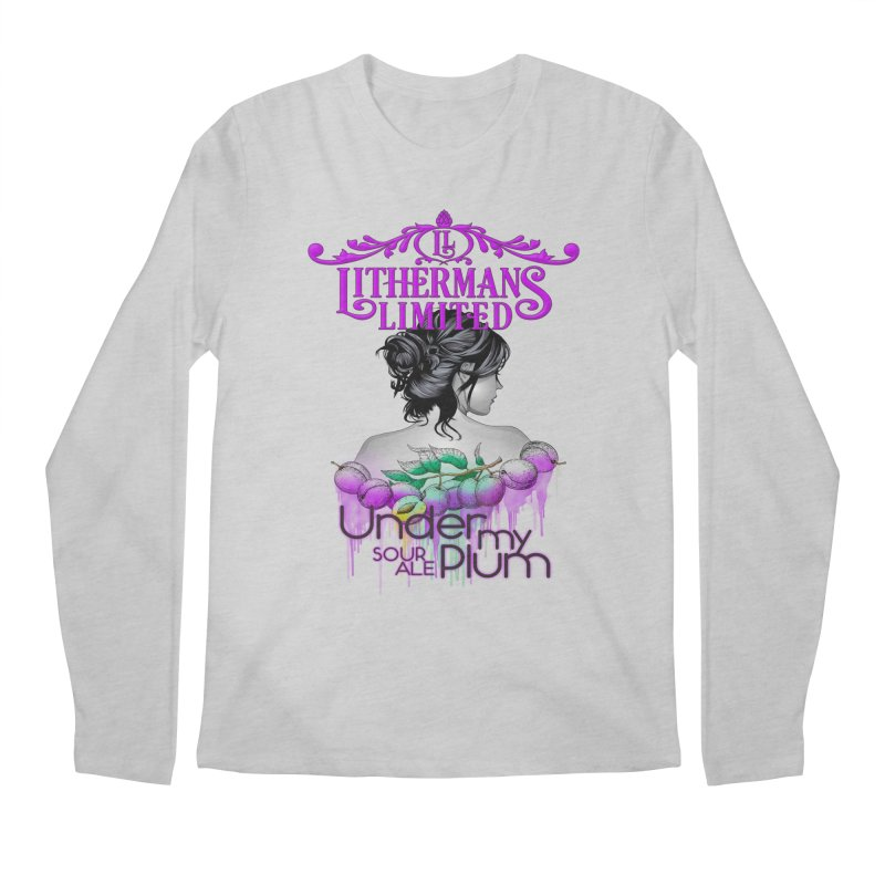 Under My Plum Men's Regular Longsleeve T-Shirt by Lithermans Limited Print Shop