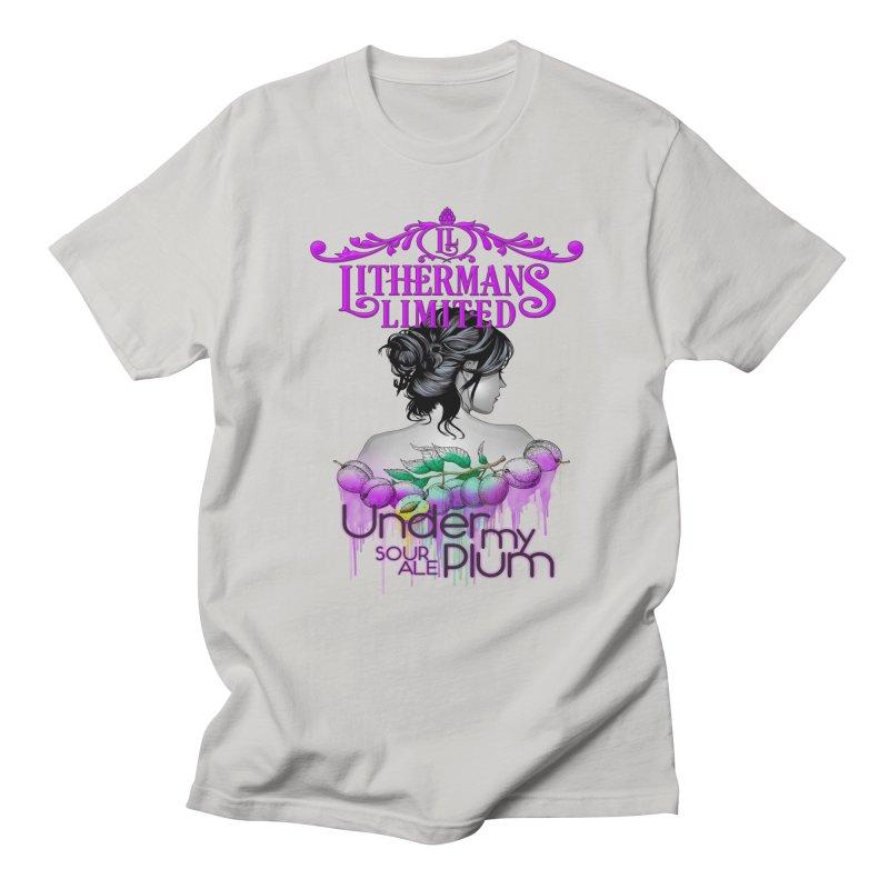 Under My Plum Men's Regular T-Shirt by Lithermans Limited Print Shop