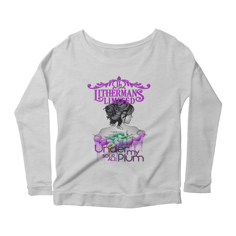 Under My Plum Women's Scoop Neck Longsleeve T-Shirt by Lithermans Limited Print Shop