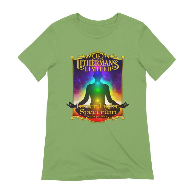 Inner Light Spectrum Women's Extra Soft T-Shirt by Lithermans Limited Print Shop