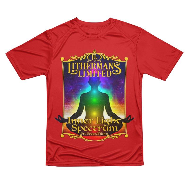 Inner Light Spectrum Women's Performance Unisex T-Shirt by Lithermans Limited Print Shop