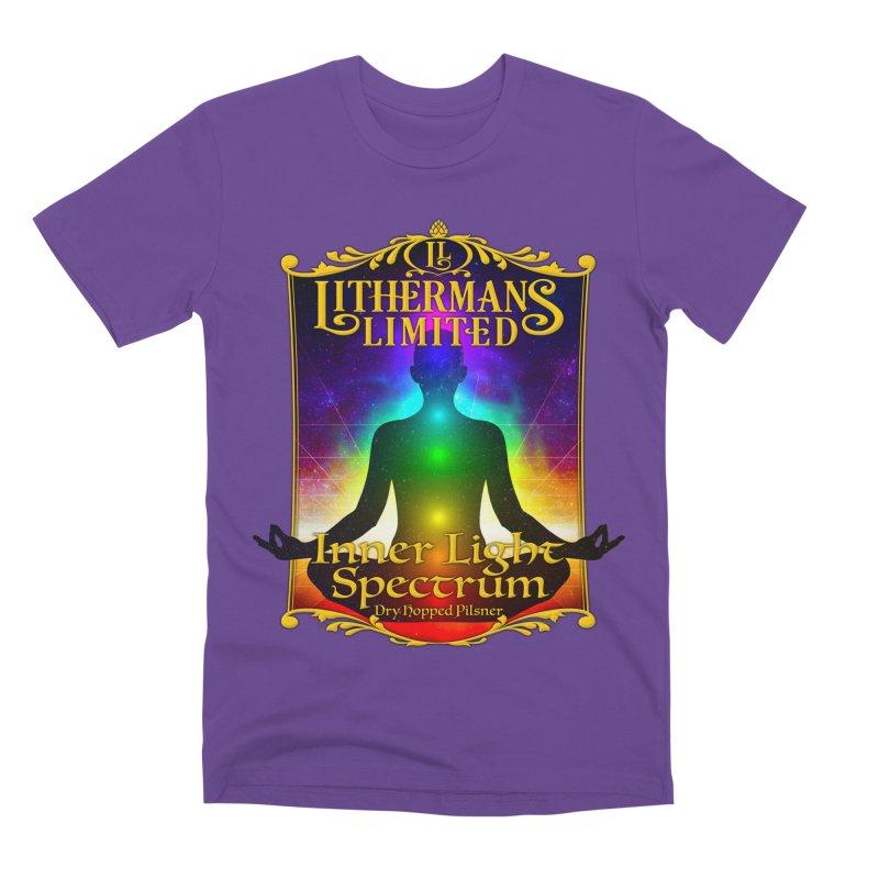 Inner Light Spectrum Men's Premium T-Shirt by Lithermans Limited Print Shop
