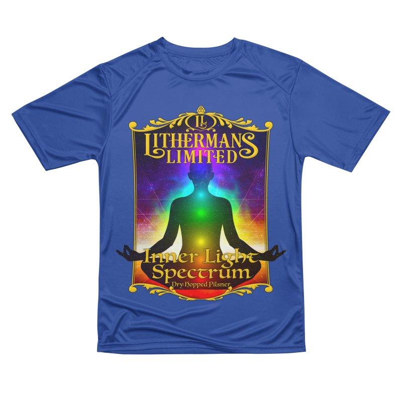 Inner Light Spectrum Men's Performance T-Shirt by Lithermans Limited Print Shop