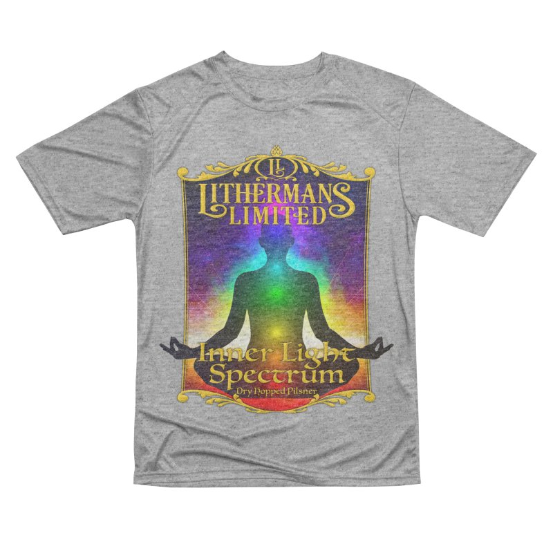 Inner Light Spectrum Women's Performance Unisex T-Shirt by Lithermans Limited Print Shop