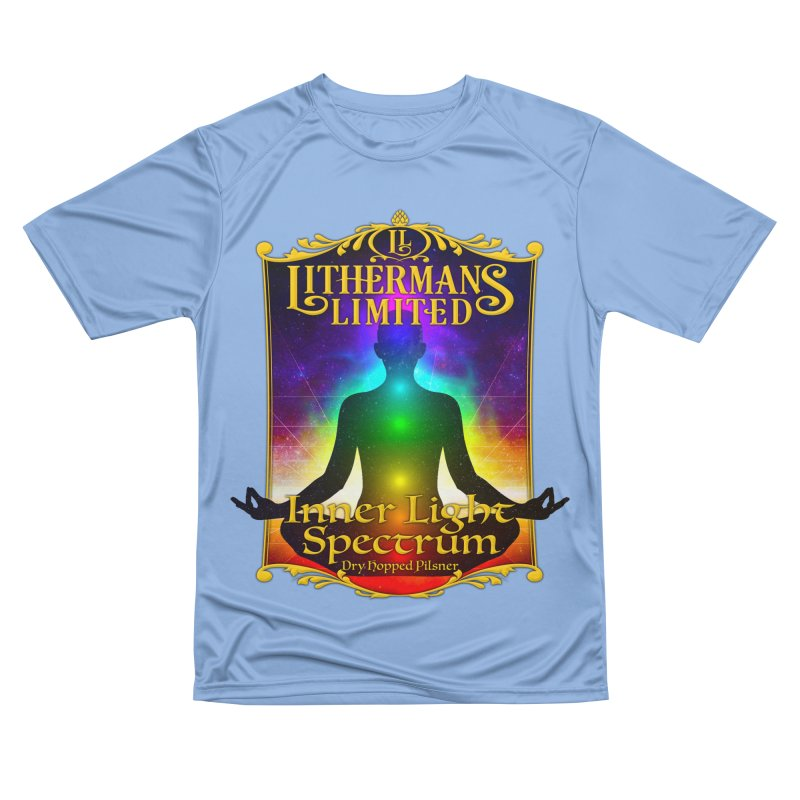 Inner Light Spectrum Men's Performance T-Shirt by Lithermans Limited Print Shop