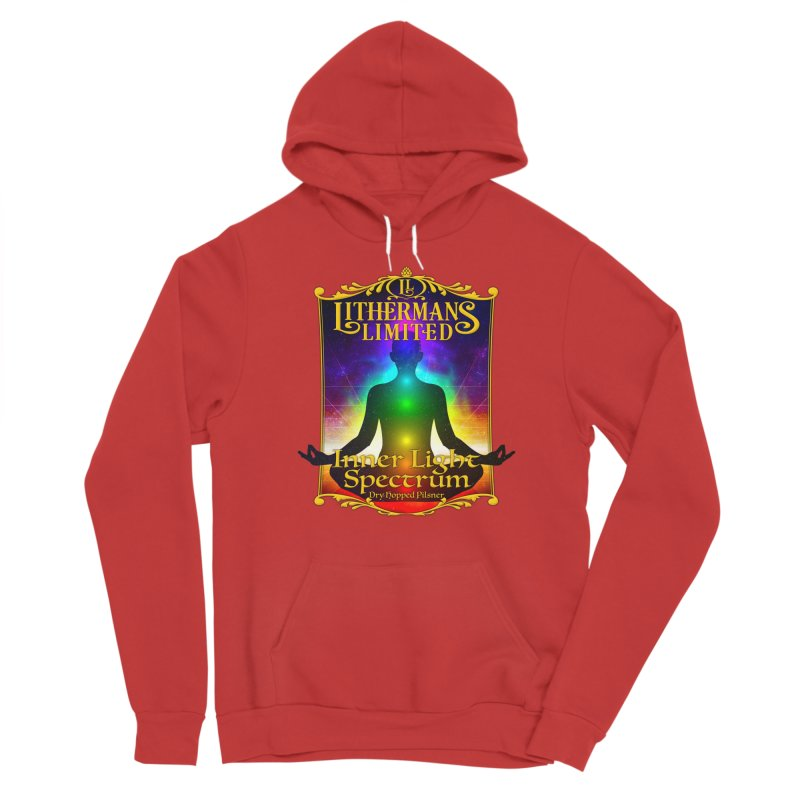 Inner Light Spectrum Men's Pullover Hoody by Lithermans Limited Print Shop