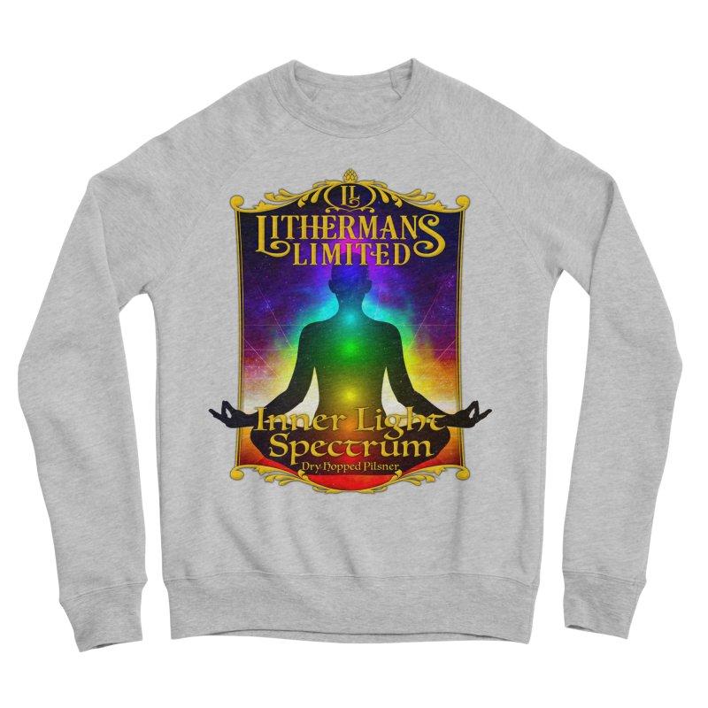 Inner Light Spectrum Men's Sponge Fleece Sweatshirt by Lithermans Limited Print Shop