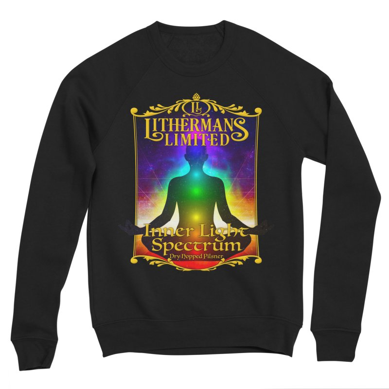Inner Light Spectrum Women's Sponge Fleece Sweatshirt by Lithermans Limited Print Shop