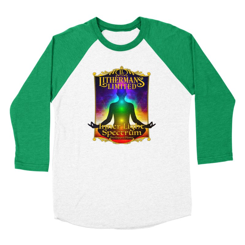Inner Light Spectrum Women's Baseball Triblend Longsleeve T-Shirt by Lithermans Limited Print Shop