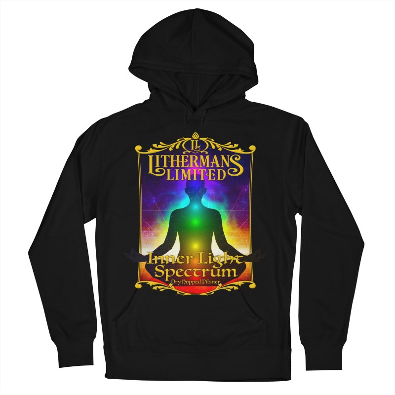Inner Light Spectrum Women's French Terry Pullover Hoody by Lithermans Limited Print Shop