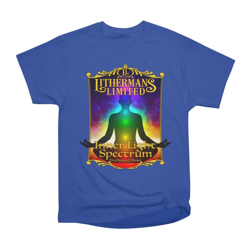 Inner Light Spectrum Women's Heavyweight Unisex T-Shirt by Lithermans Limited Print Shop