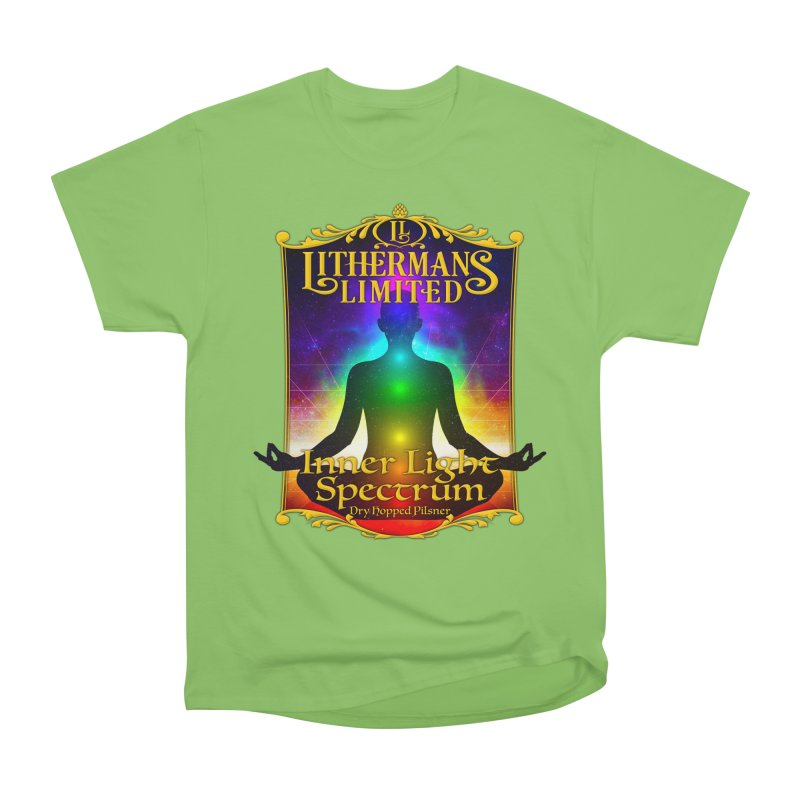 Inner Light Spectrum Women's Heavyweight Unisex T-Shirt by Lithermans Limited Print Shop
